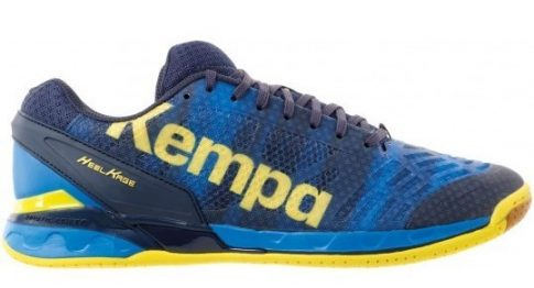 Kempa Attack One Blue/Yellow kézilabda cipő