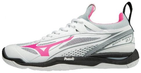 Mizuno Wave Mirage 2.1 White/Pink kézilabda cipő