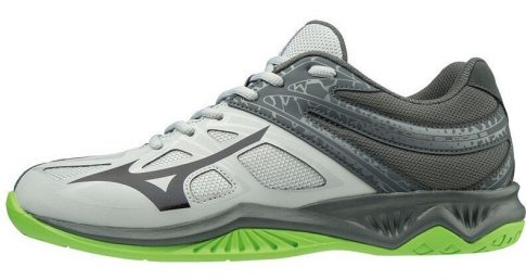Mizuno Thunder Blade 2 HIGH RISE / BLACK / GREEN GECKO kézilabda cipő