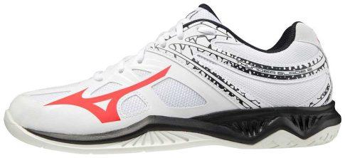 Mizuno Thunder Blade 2 White/Red kézilabda cipő