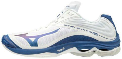 Mizuno Wave Lightning Z6 Wht/Tblue kézilabda cipő