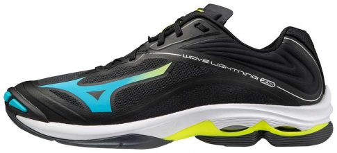 Mizuno Wave Lightning Z6 Black/Yellow kézilabda cipő