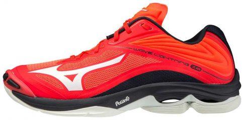 Mizuno Wave Lightning Z6 Red Ignition kézilabda cipő