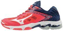 Mizuno Wave Lightning Z5 Fiery Coral női kézilabda cipő