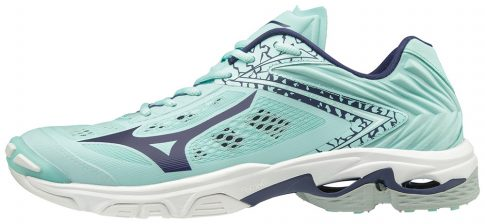 MIZUNO WAVE LIGHTNING Z5 / Blue Light / Astral Aura / White női kézilabda cipő