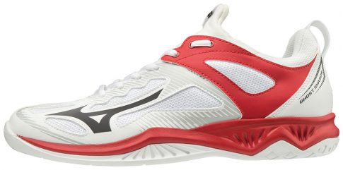 Mizuno Ghost Shadow White/Black/Red kézilabda cipő