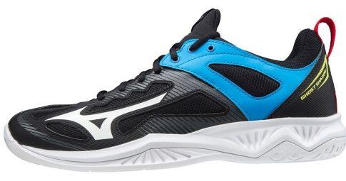 Mizuno Wave Ghost Shadow Black/blue kézilabda cipő