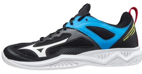 Mizuno Wave Ghost Shadow Black/blue kézilabda cipő