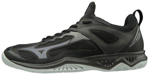 MIZUNO GHOST SHADOW / Black / Steel Gray kézilabda cipő