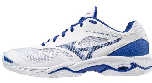 Mizuno Wave Phantom 2 White/Rblue kézilabda cipő