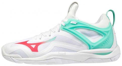 Mizuno Wave Mirage 3 White női kézilabda cipő