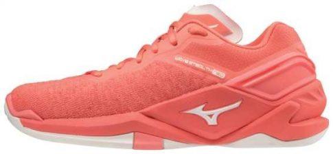 Mizuno Wave Stealth Neo Peach női kézilabda cipő