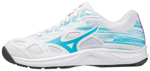 Mizuno Stealth Star White Junior kézilabda cipő