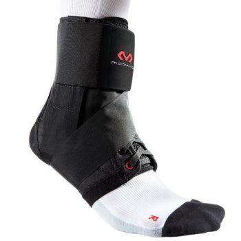 McDavid ultrakönnyű bokavédő pánttal fekete