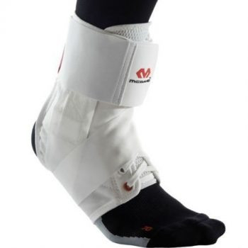 McDavid ultrakönnyű bokavédő pánttal fehér