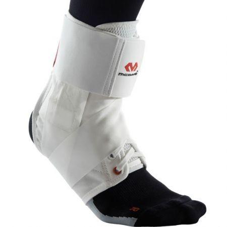 McDavid ultrakönnyű bokavédő pánttal fehér - Online kézilabda szaküzlet 281c230685