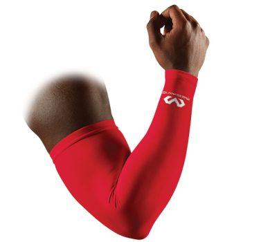 McDavid 6566 Kompressziós kar sleeve Párban piros