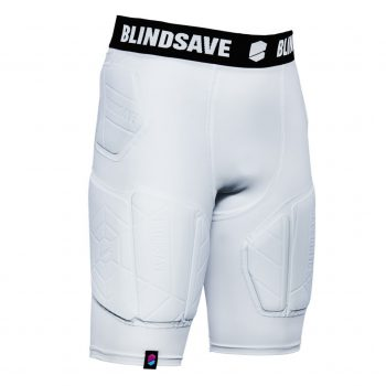 BLINDSAVE PADDED COMPRESSION SHORTS PRO+ WHITE