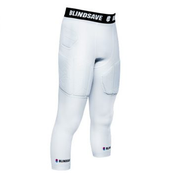 BLINDSAVE 3/4 TIGHTS PRO+ WHITE