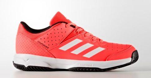 Adidas Court Stabil Jr Red gyerek kézilabda cipő