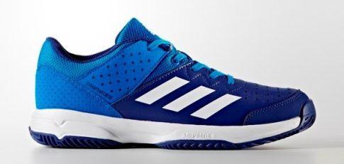 Adidas Court Stabil Jr Blue gyerek kézilabda cipő