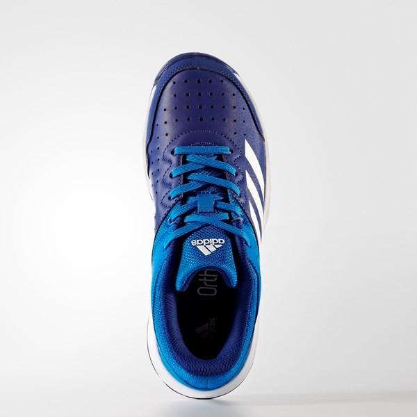 30d84a76f7f9 Adidas Court Stabil Junior Blue gyerek kézilabda cipő - Online ...