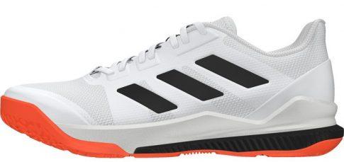 Adidas STABIL BOUNCE WHITE/BLACK/SORANG kézilabda cipő