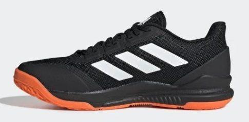 Adidas STABIL BOUNCE CBLACK/FTWWHT/SORANG kézilabda cipő