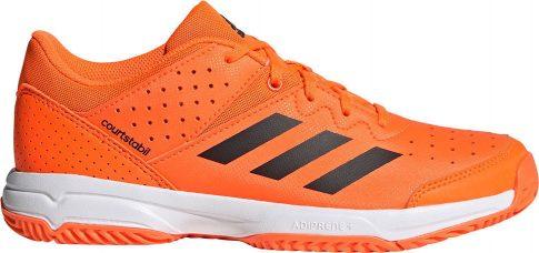 Adidas COURT STABIL Junior Orange kézilabda cipő