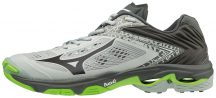 MIZUNO WAVE LIGHTNING Z5 / High Rise / Black / Green Gecko kézilabda cipő