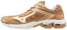 MIZUNO WAVE LIGHTNING Z5 / Indian Tan / White / Sheepskin kézilabda cipő