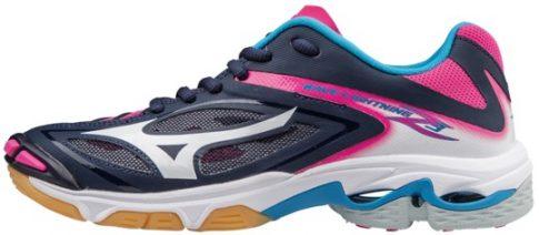 Mizuno Wave Lightning Z3 Peacoat női kézilabda cipő