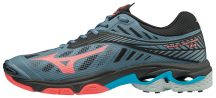 Mizuno Wave Lightning Z4 DGrey/Coral női kézilabda cipő