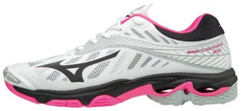 Mizuno Wave Lightning Z4 White/Pink