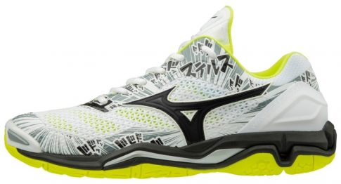 Mizuno Wave Stealth V Limited White