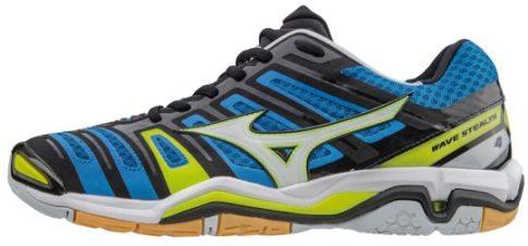 Mizuno Wave Stealth 4 Directoire Blue kézilabda cipő