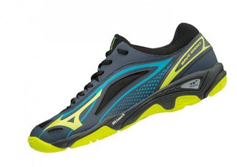 MIZUNO WAVE GHOST Blue/Yellow kézilabda cipő