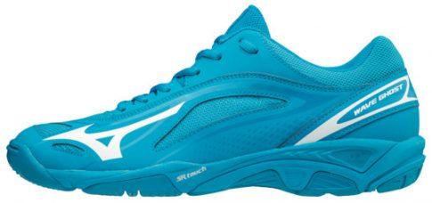 MIZUNO Wave Ghost BlueJewel/White/Ocean kézilabda cipő