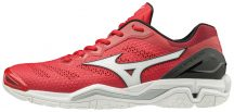MIZUNO WAVE STEALTH V / Tomato / White / Black