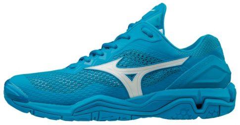 Mizuno Wave Stealth V Azure kézilabda cipő