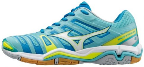 Mizuno Wave Stealth 4 Blue Radiance női kézilabda cipő