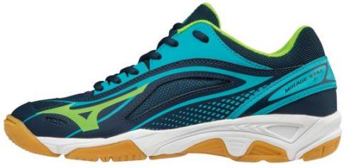 Mizuno Wave Mirage Star2 Junior Blue/Green kézilabda cipő