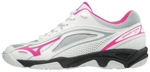 Mizuno Mirage Star 2 Junior White/Pink kézilabda cipő